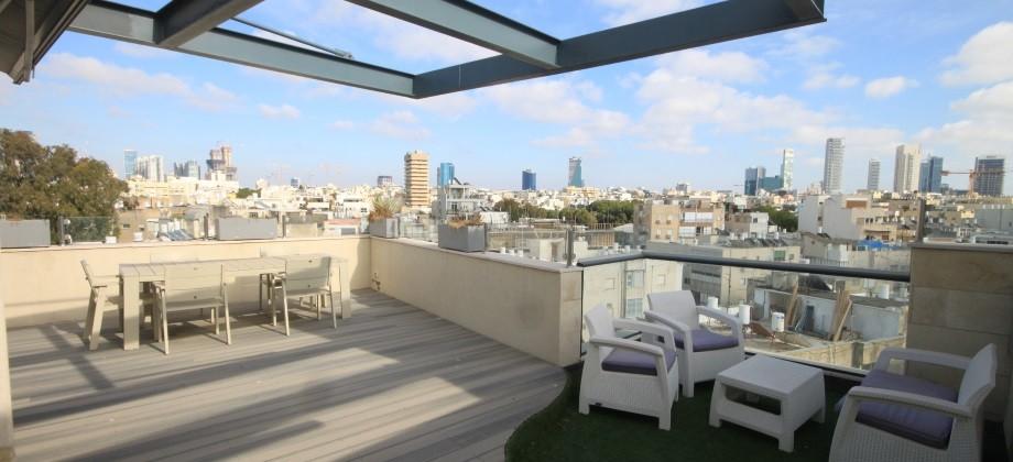 Duplex 4 Pièces (5 ème étage) Bar Kochba 148m²