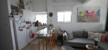 2 Pièces (4 ème étage) Lakhish Frishman 47m²