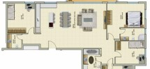 5 Pièces (1 er étage) RAMAT AVIV 148m²