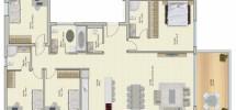 5 Pièces (5 ème étage) RAMAT AVIV 143m²
