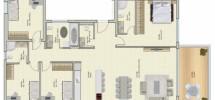 5 Pièces (6 ème étage) RAMAT AVIV 143m²