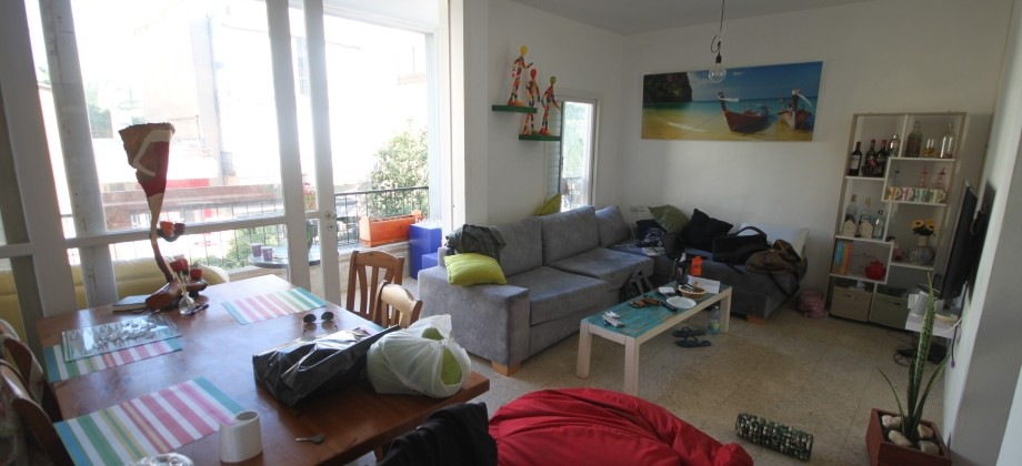 3 Pièces (2 ème étage) Quartier Ben Gurion 80m²