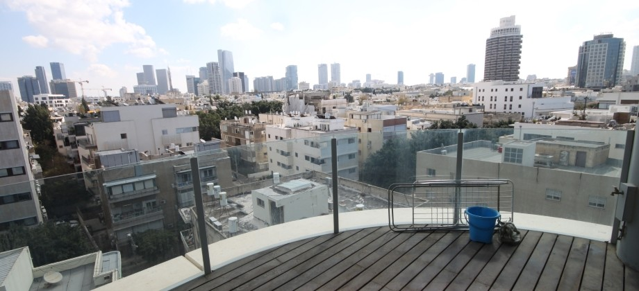 3 Pièces (8 ème étage) Centre Tel Aviv 78m²