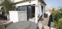 Holidays : Duplex Penthouse 6 couchages Ben Gurion
