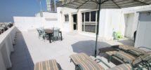 HOLIDAYS : Maison sur le Toit Dizengoff 68+160m²