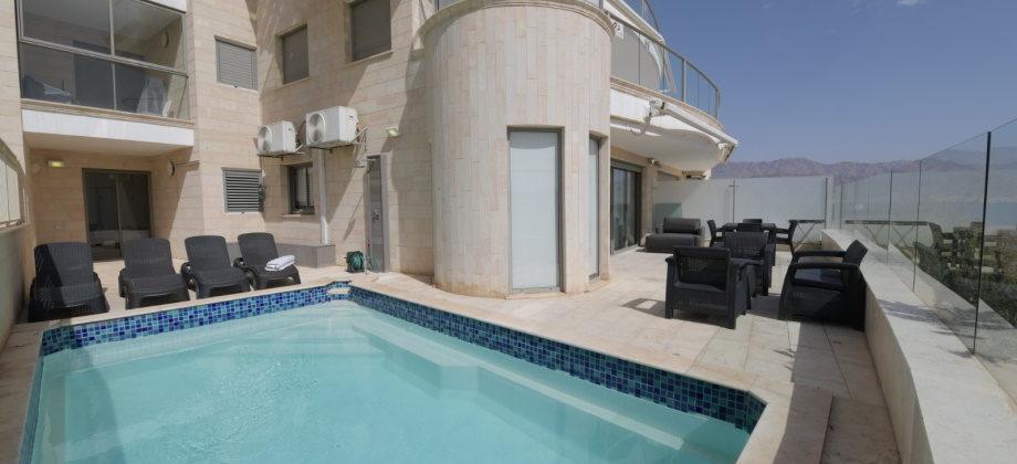4.5 Pièces (Rez de Chaussée) avec Piscine Eilat 214m²