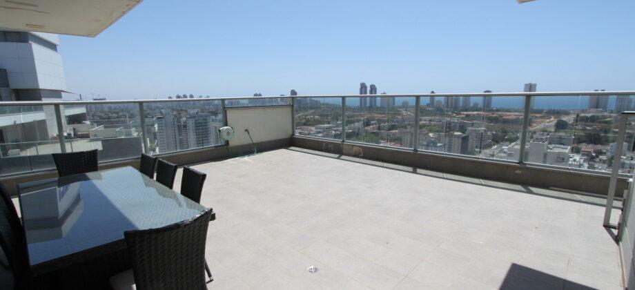 Netanya – Ramat Hen – Penthouse 5 Pièces 450m²