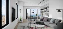 Penthouse (7 ème étage) Dizengoff 167m²
